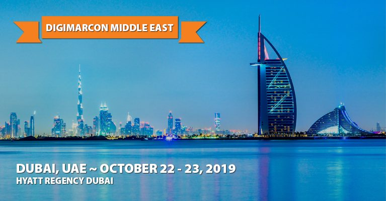 About: DigiMarCon Middle East 2019 · Dubai, UAE · Oct 22